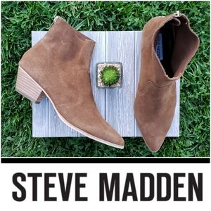Rugged Pointy Toe Steve Madden Booties